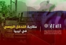 صورة مقاربة التدخل الروسي في ليبيا