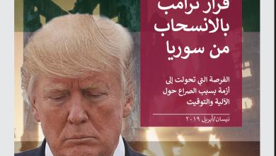 صورة قرار ترامب بالانسحاب من سوريا
