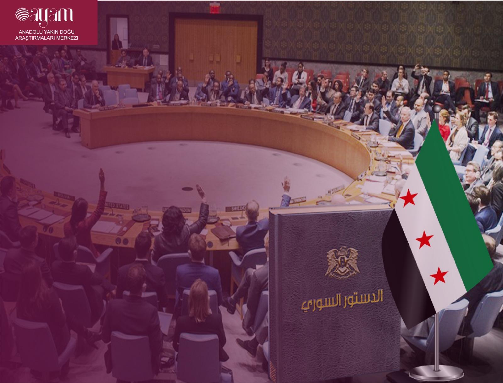 Suriye Anayasa Komisyonu Olusum Ve Isleyis Sorunlari Anadolu Yakin Dogu Arastirmalari Merkezi