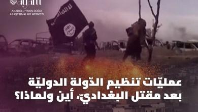 صورة عمليّات تنظيم الدّولة الدوليّة بعد مقتل البغداديّ، أين ولماذا؟