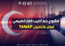 صورة إنفوجرافيك | مشروع خط أنابيب الغاز الطبيعي العابر للأناضول TANAP