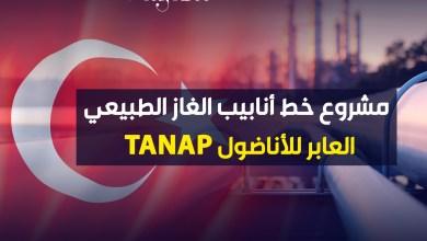 صورة مشروع خط أنابيب الغاز الطبيعي العابر للأناضول TANAP