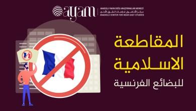 صورة إنفوجرافيك | المقاطعة الاسـلامية للبضائع الفرنسية