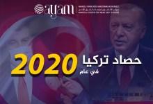 صورة تقرير | حصاد تركيا في عام 2020