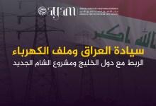 صورة سيادة العراق وملف الكهرباء الربط مع دول الخليج ومشروع الشام الجديد