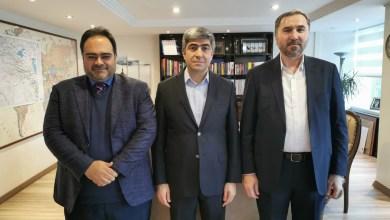 صورة زيارة نائب المدير العام لوكالة الأناضول