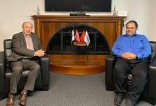 صورة مدير مركز أيام يستقبل مدير دائرة الاستشارات الاستراتيجية في الائتلاف الوطني السوري